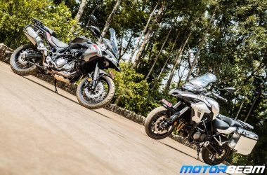 Benelli TRK 502 Review Test Ride