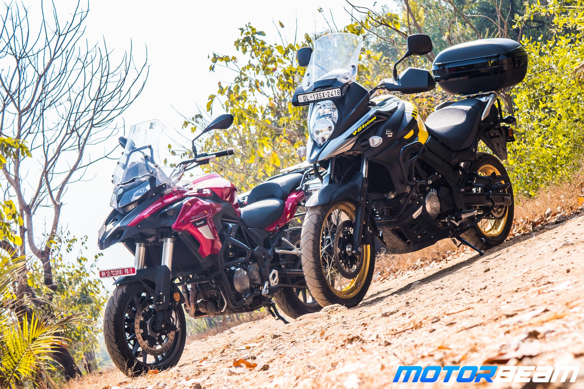 Benelli TRK 502 vs Suzuki VStrom 650XT Comparison Review