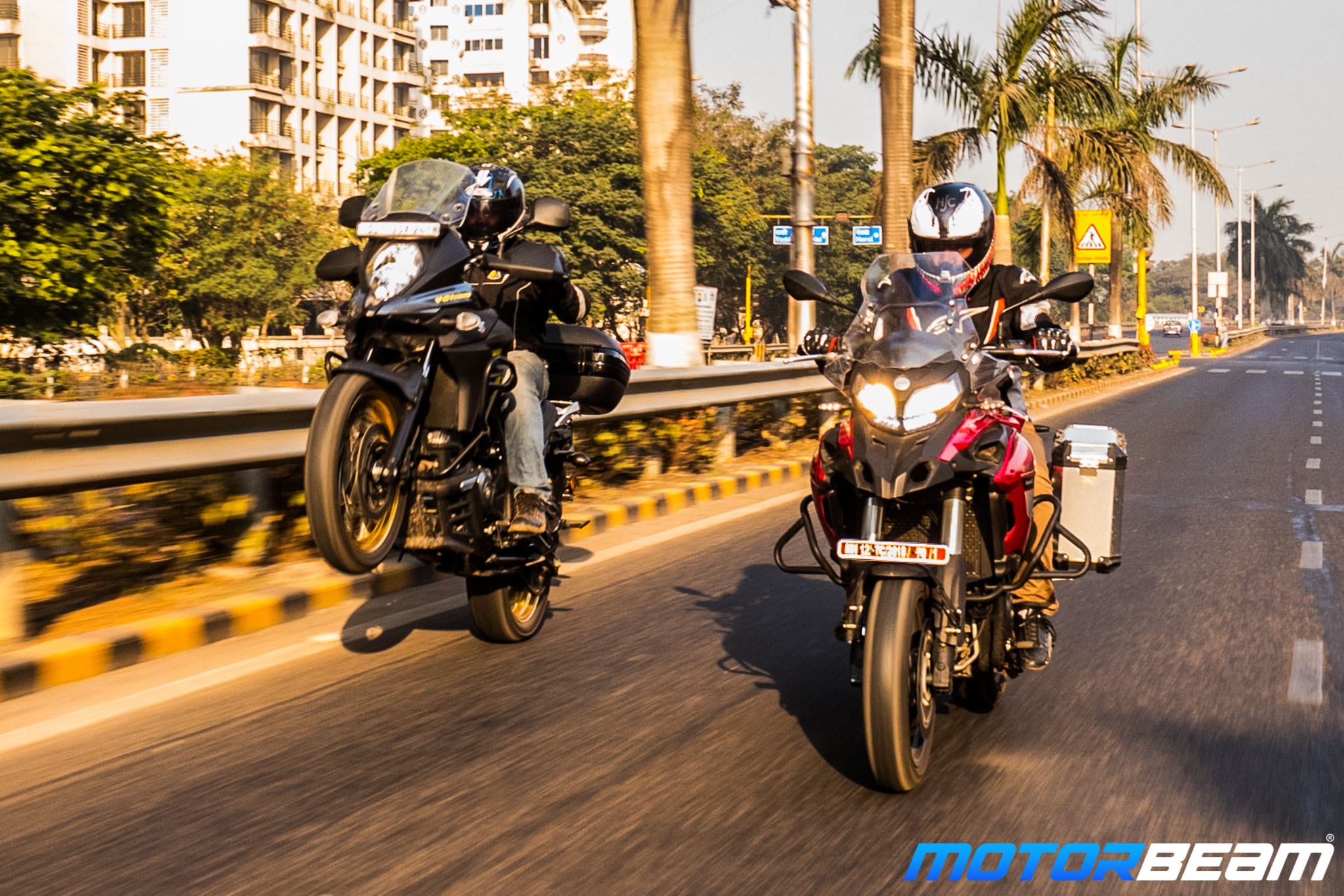 Benelli TRK 502 vs Suzuki VStrom 650XT Comparison Test