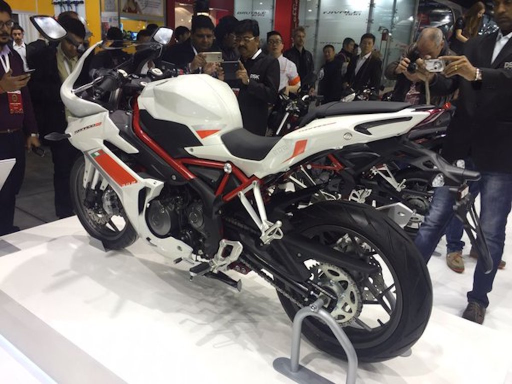 India Bound Benelli Tnt 300 Based Tornado 302 Unveiled