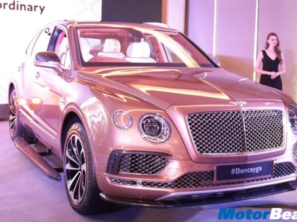 Bentley Bentayga Launched In India Priced At Rs 3 85 Crores Motorbeam