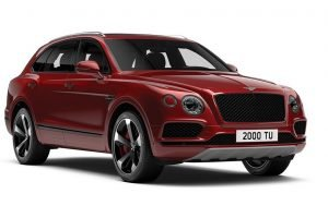 Bentley Bentayga V8 Dragon Red