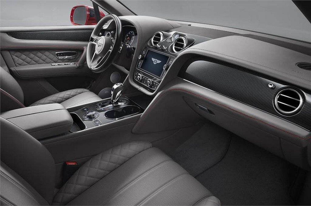 Bentley Bentayga V8 Interior