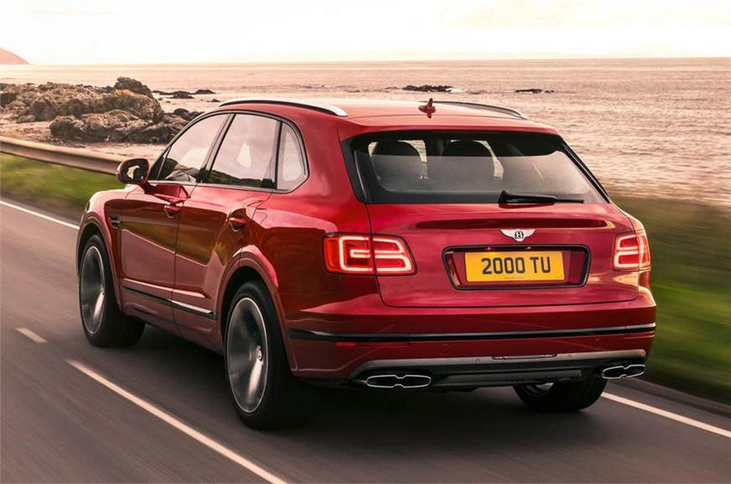 Bentley Bentayga V8 Rear