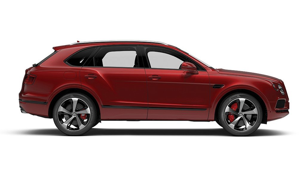 Bentley Bentayga V8 Side Profile