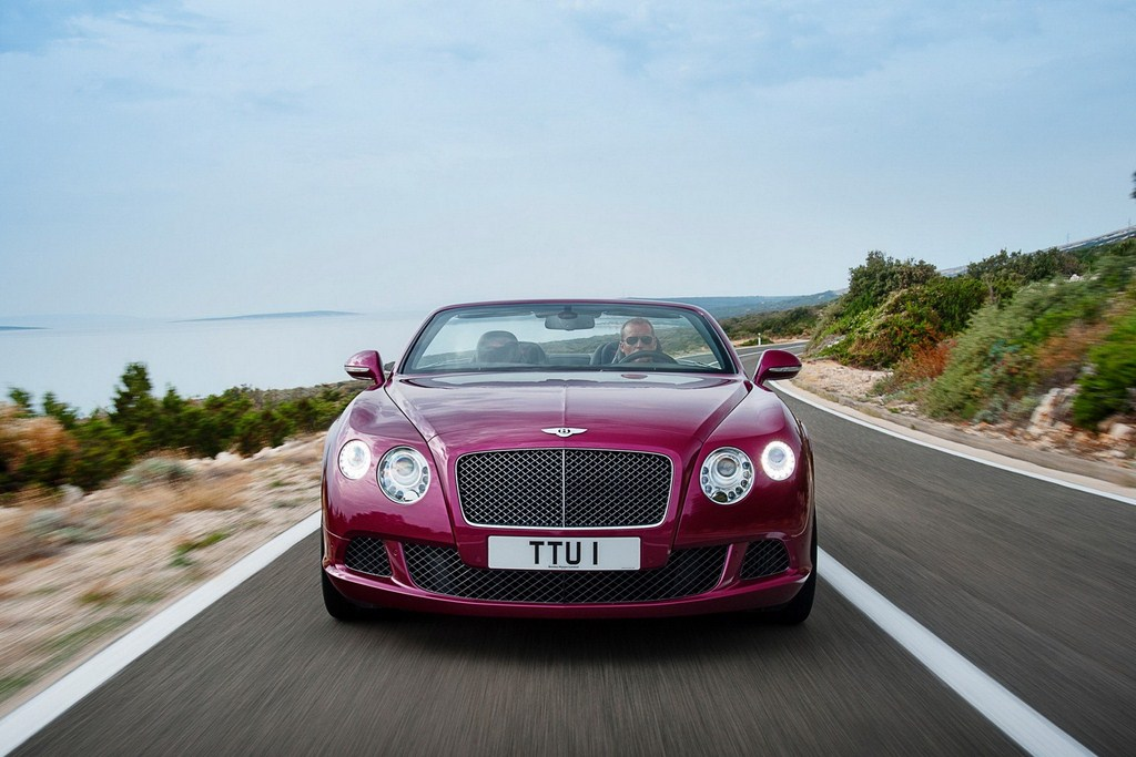 Bentley Continental GT Speed Convertible Front