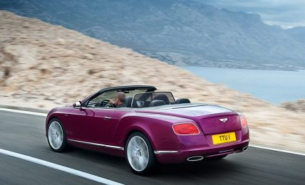 Bentley Continental GT Speed Convertible Rear