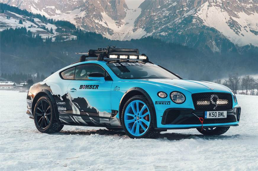 Bentley Ice Racer