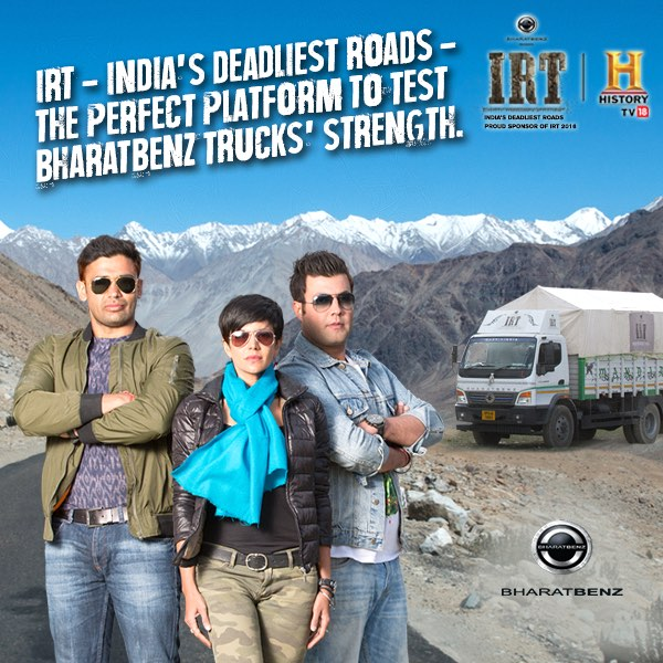 Bharat-Benz Ice Road Truckers