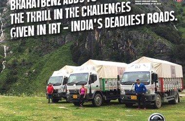 Bharat-Benz Trucks Conquer Himalayas With Ice Road Truckers