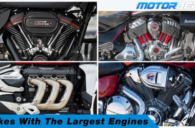 Bikes With The Largest Engines Video