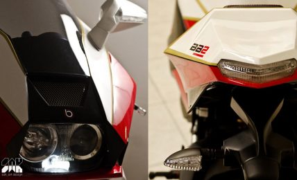Bimota BB2 front rear