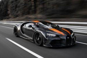 Bugatti Chiron World Record