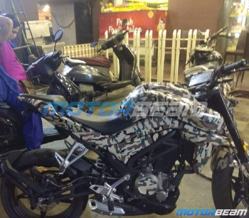 CF Moto 250 NK Spotted In India | MotorBeam com