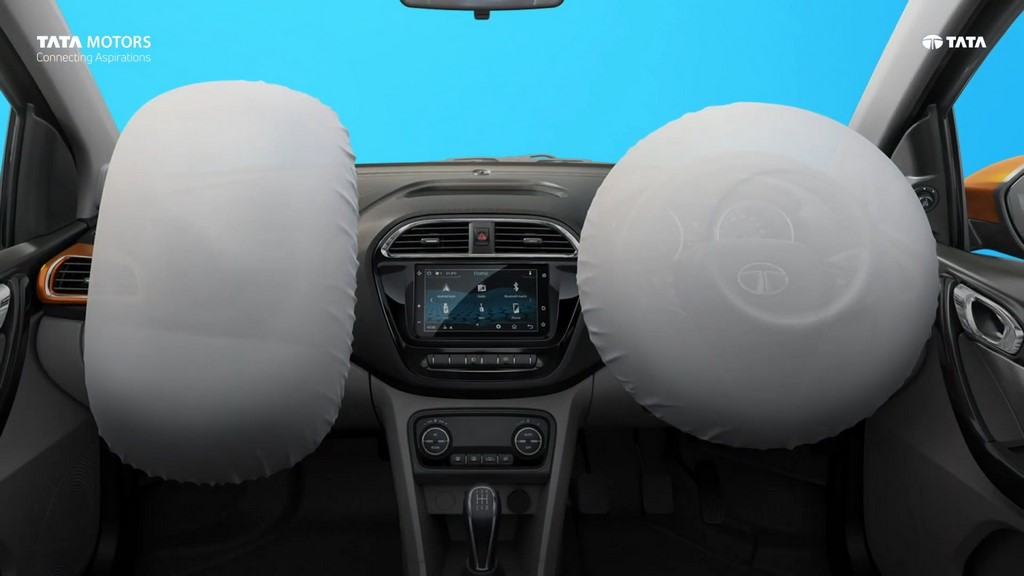 Car Safety Norms Dual Front Airbags