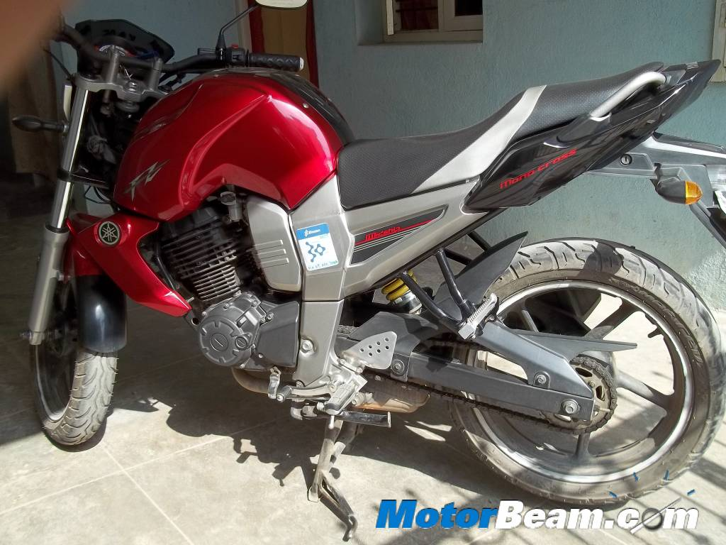Chandranath gets featured with his yamaha fz16