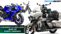 Cheapest & Costliest Bikes Of Every Company In India