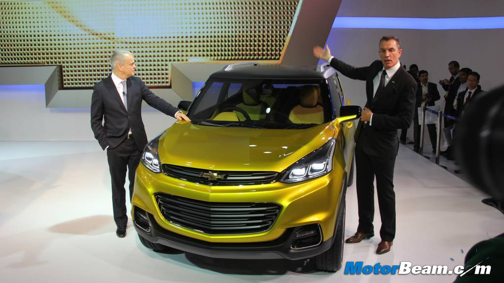 Chevrolet Adra Concept Front