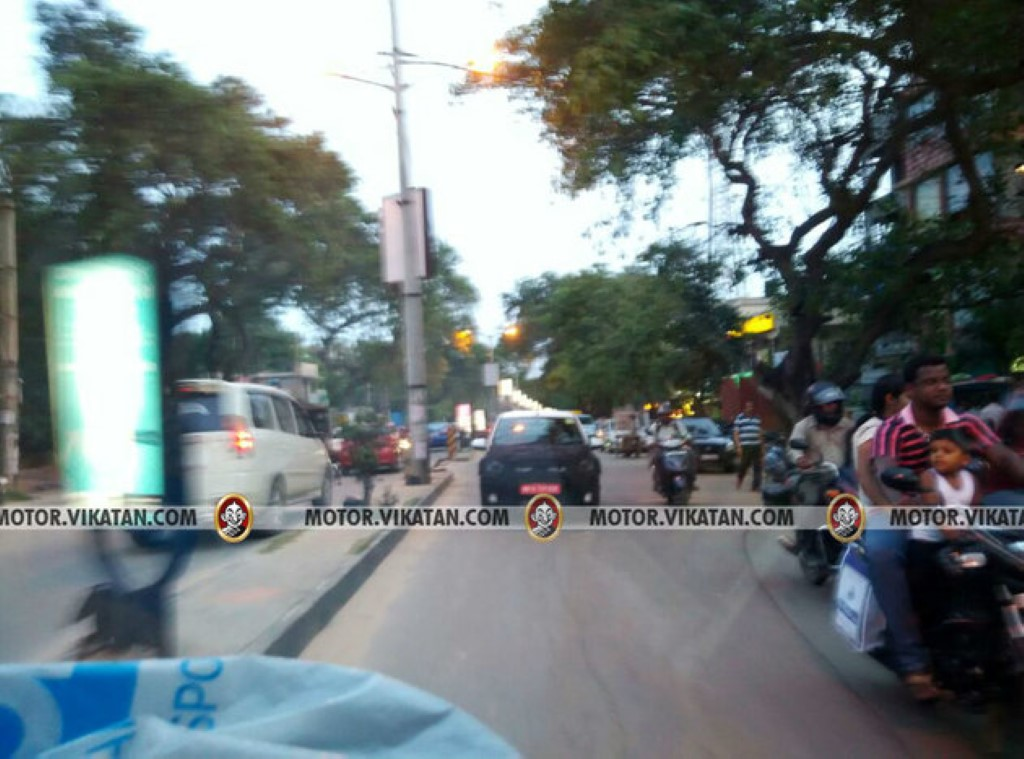 Chevrolet Beat Activ Spotted On Test