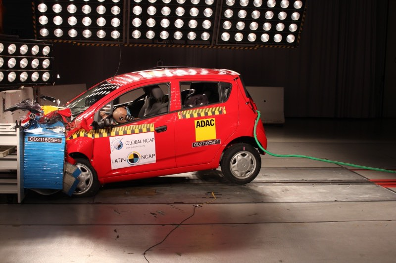 Chevrolet Beat Crash Test