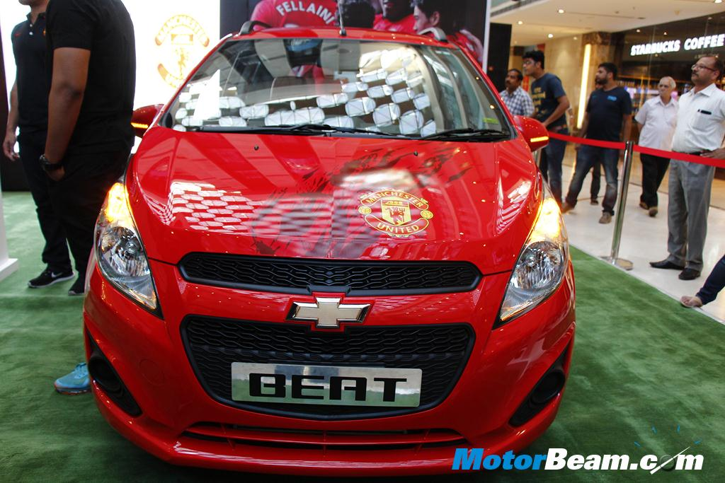 Chevrolet Beat ManU Edition Launch