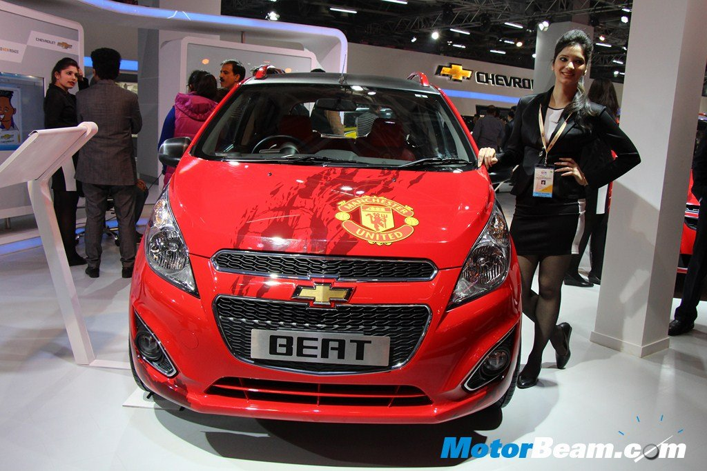 Chevrolet Beat Manchester United Front