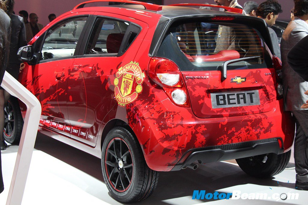 Chevrolet Beat Manchester United Rear