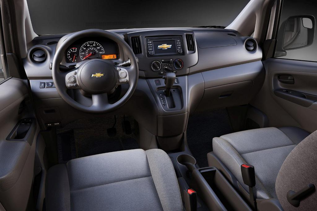 Chevrolet City Express Interior