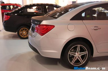 Chevrolet Cruze Sail Special Editions
