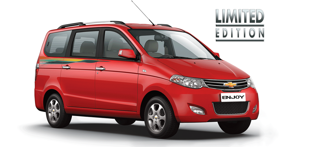 Chevrolet Enjoy Limited Edition Unveil
