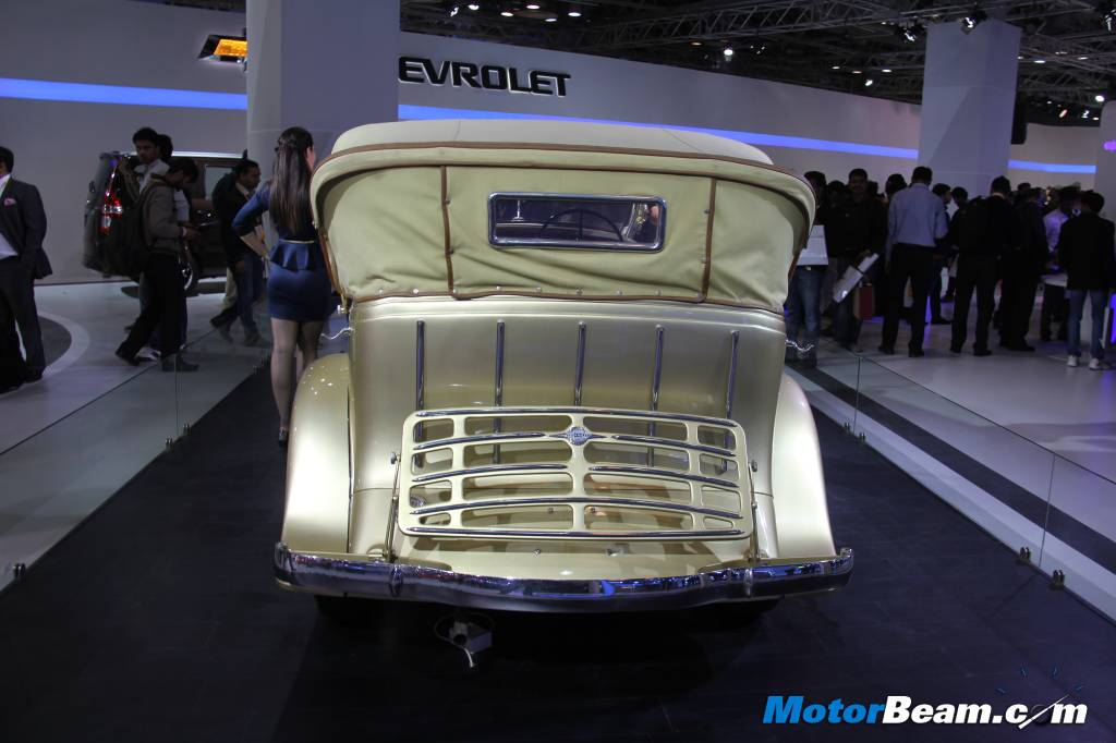 Chevrolet Master Eagle 1933 Rear