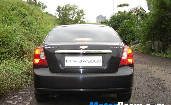 Chevrolet Optra Phase Out