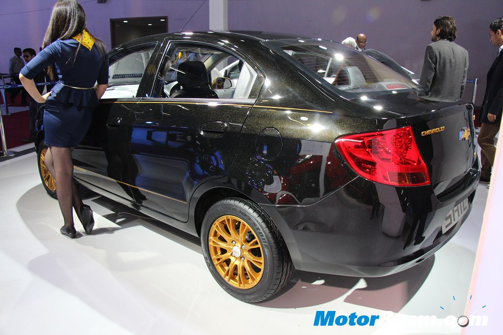 Chevrolet Sail Accesorised Tail