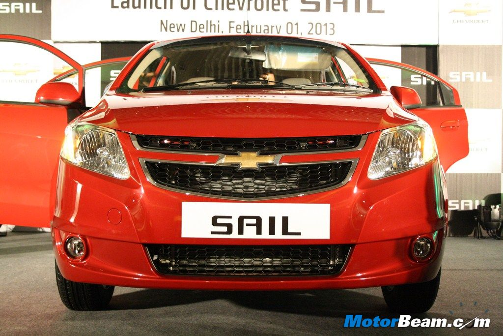 Chevrolet Sail Front