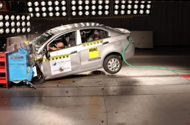 Chevrolet Sail Latin NCAP Crash Test