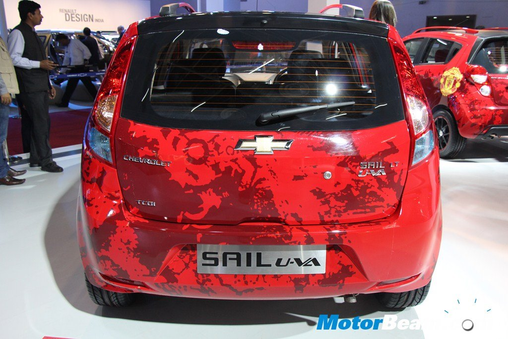 Chevrolet Sail U-VA Manchester United Rear