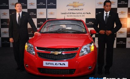 Chevrolet Sail U-VA Price
