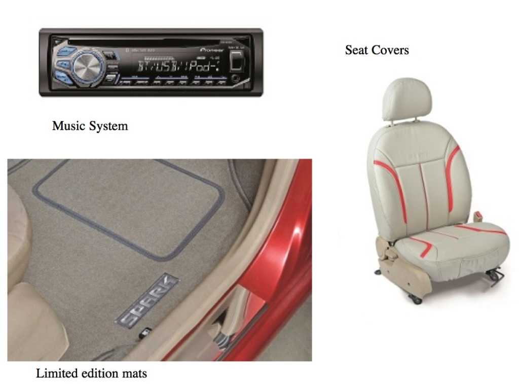 Chevrolet Spark Limited Edition Seat Cover