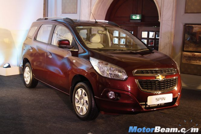 Chevrolet Spin Mpv Launch Cancelled Beat Activ Confirmed
