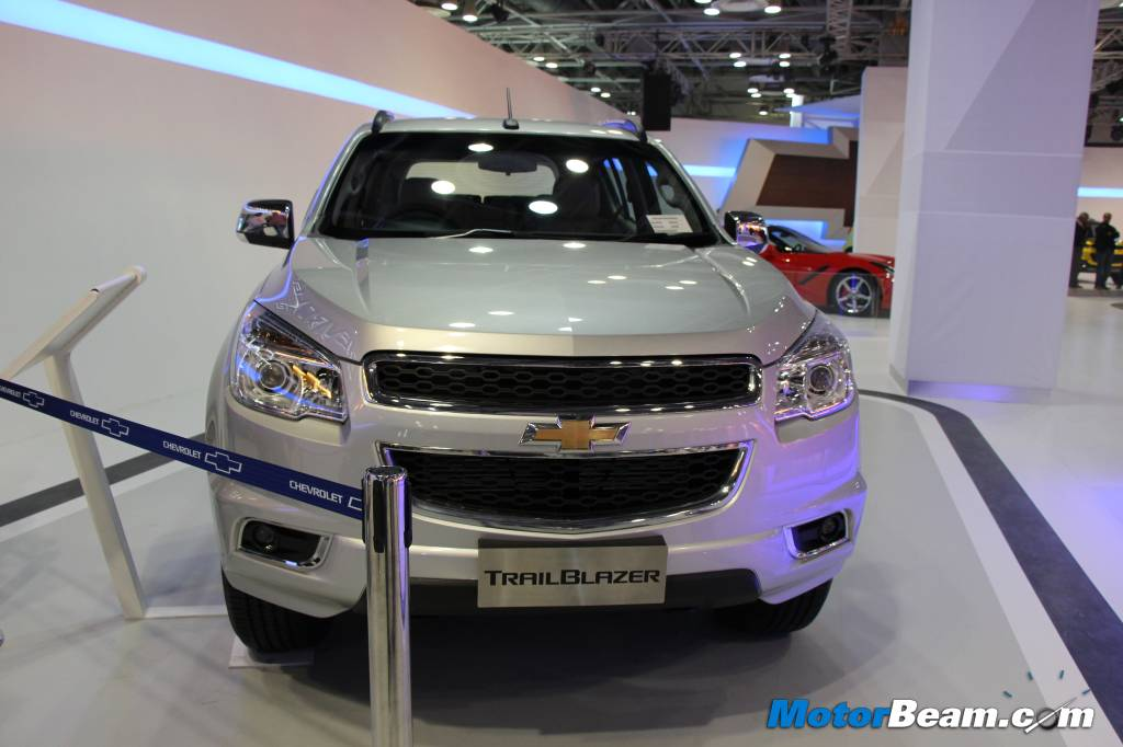Chevrolet TrailBlazer India Front