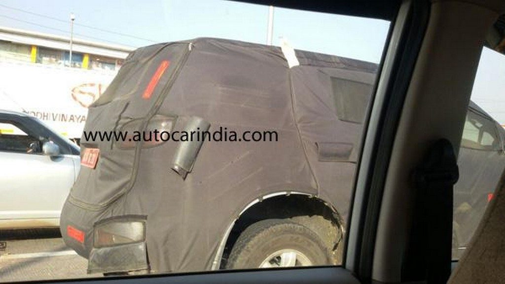 Chevrolet Trailblazer Spied Rear