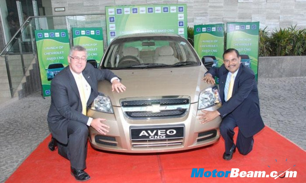 GM Launches CNG Chevrolet Aveo