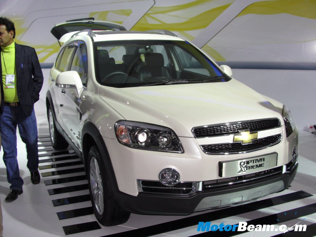 All Chevy chevy captiva awd : GM India Launch Chevrolet Captiva Xtreme