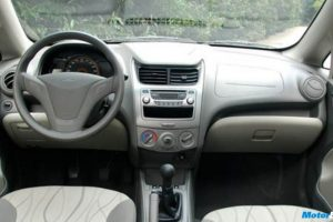 Chevrolet Sail Interior