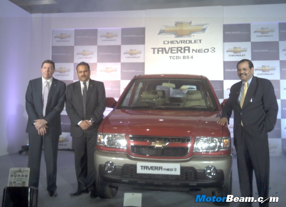 Facelifted Chevrolet Tavera Launched In India