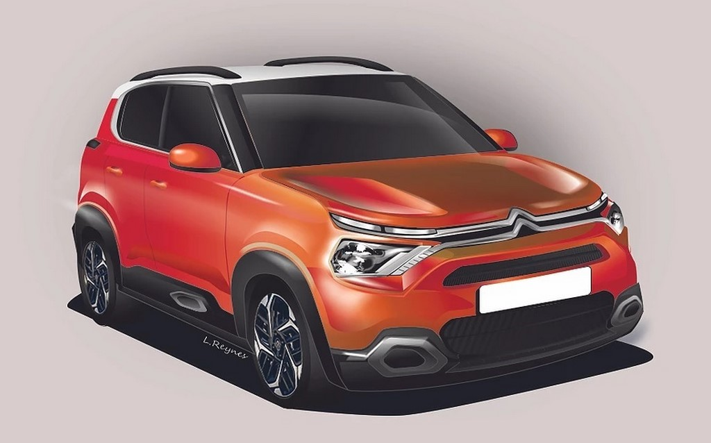 Citroen C3 Design Rendering