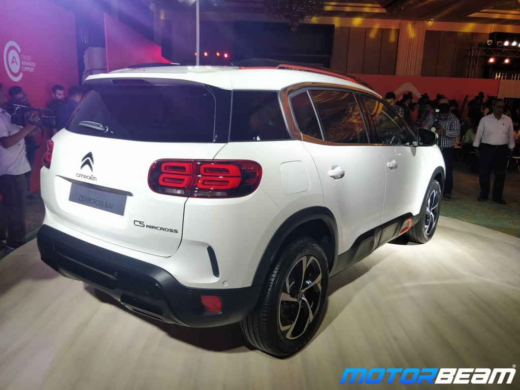 Citroen C5 Aircross Rear