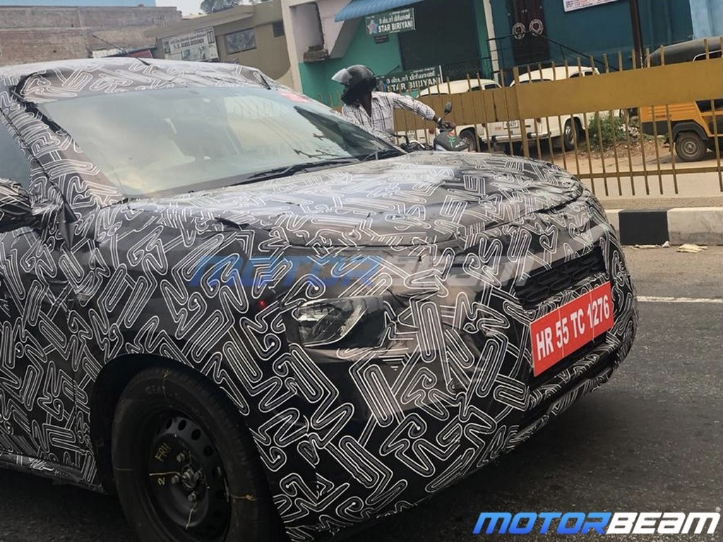 Citroen Compact SUV Spotted