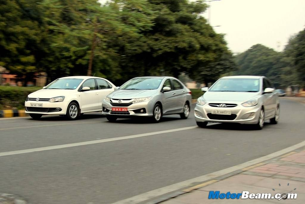 City vs Verna vs Vento Shootout