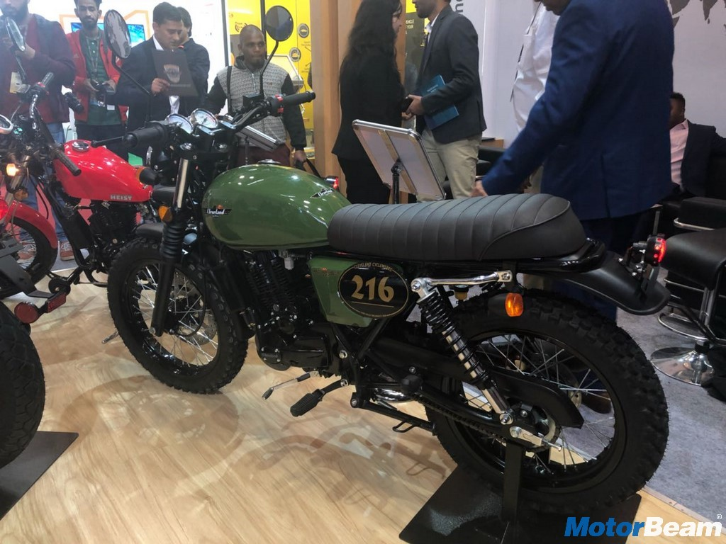 Cleveland Cyclewerks Ace Scrambler 3